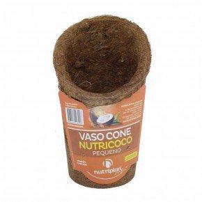 vaso cone fibra de coco 2