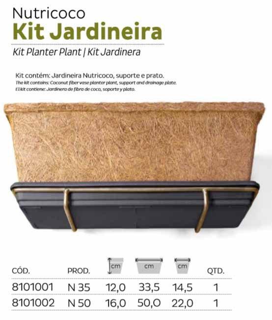 kit jardineira nutricoco