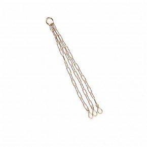 corrente de metal 44 cm
