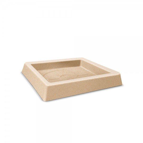 prato quadrado classic 25 areia