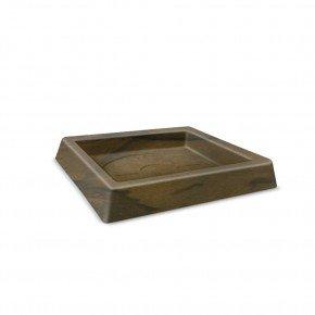 prato quadrado classic 25 cobre