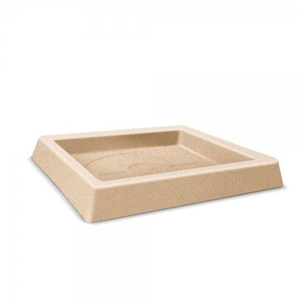 prato quadrado classic 36 areia