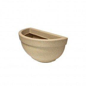 vaso de parede n34 areia