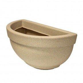 vaso de parede n39 areia