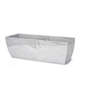 vaso elegance cachepo jardineira n1 branco carrara