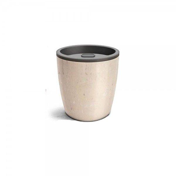 vaso autoirrigavel n3 5 travertino