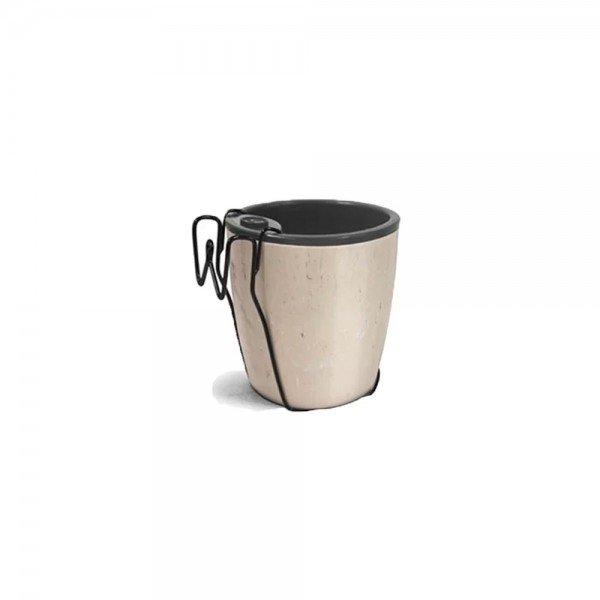 kit vaso autoirrigavel n3 travertino