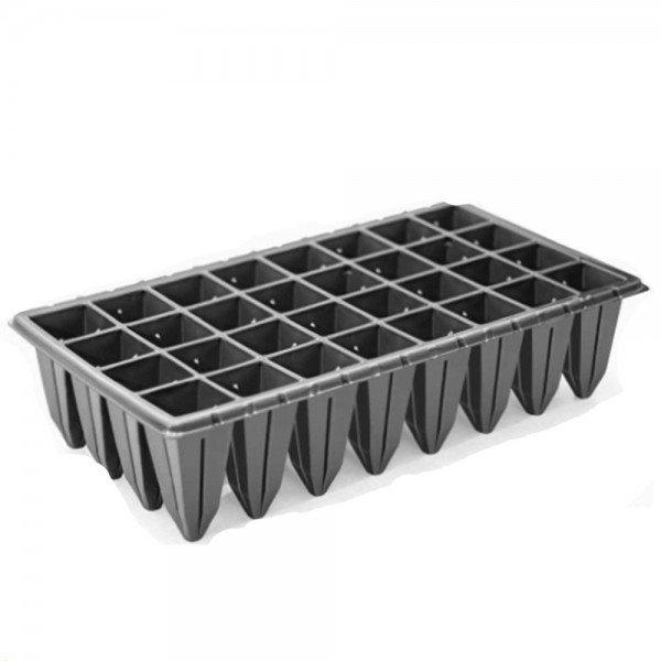 bandeja 32 celulas quadrada