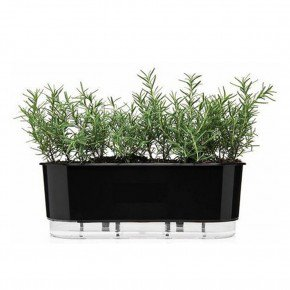 jardineira autoirrigavel raiz preto 40cm