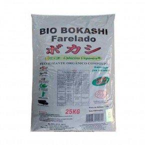 bio bokashi farelado 25kg adubo organico