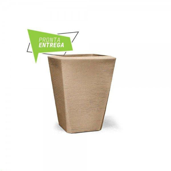 vaso grafiato trapezio n70 areia
