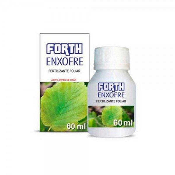 fertilizante foliar forth enxofre concentrado 60 ml