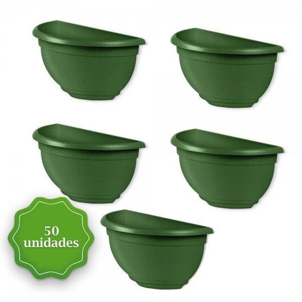 vaso de parede verde 50