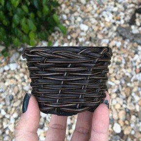 vaso cachepo bambu sintetico bambu arte bom cultivo np06 pote holabra pote pequeno mini vaso cor indiano