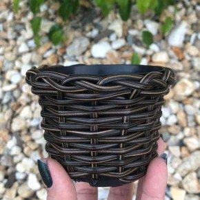 vaso cachepo bambu sintetico bambu arte bom cultivo np11 pote holabra pote pequeno mini vaso cor indiano