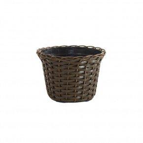 vaso vime sintetico argila bambu arte vasos minas bom cultivo vaso para planta vaso violeta 11cm