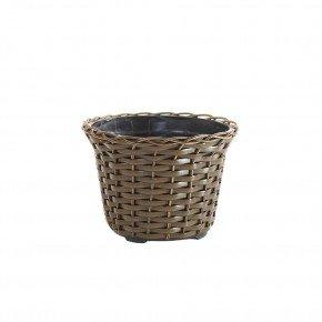 vaso vime sintetico envelhecido bambu arte vasos minas bom cultivo vaso para planta vaso violeta 11cm