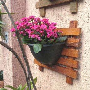 vaso de parede parede verde vaso meia lua bom cultivo preto 2