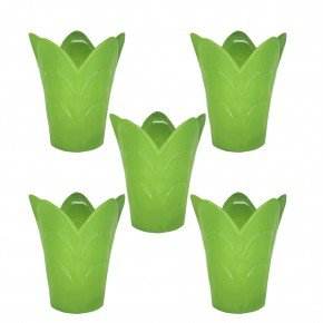 vaso tulipa m vaso cachepo vaso ecologico reciclado importadora bom cultivo verde