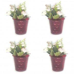 vaso colmeia m vaso cachepo vaso ecologico reciclado importadora bom cultivo vermelho
