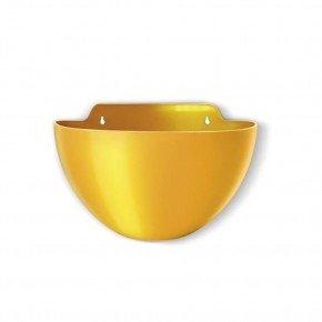 vaso de parede elegance medio amarelo